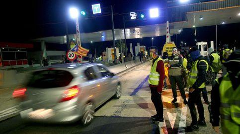 Los CDR boicotean en la Operación Retorno los peajes de las autopistas catalanas