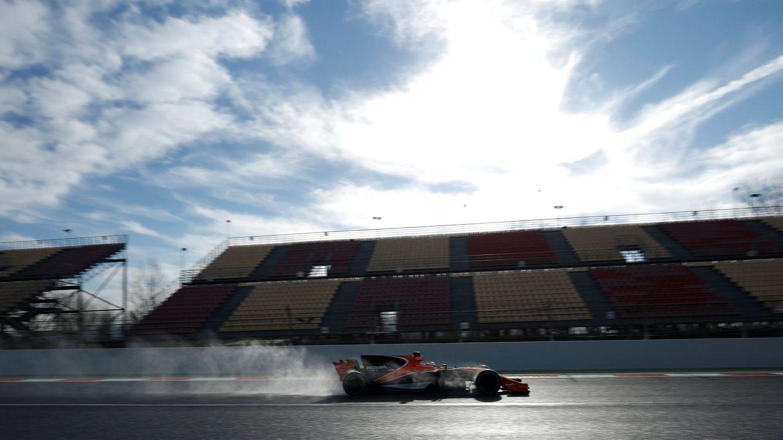 Foto: El McLaren no cumplió con las expectativas en Montmeló (Albert Gea/Reuters)
