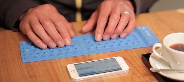 Foto: ¿Problemas para escribir desde el móvil? Llega MyType, el teclado enrollable
