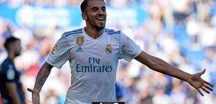 Post de Ceballos se basta para remediar la falta de gol del Real Madrid en Vitoria