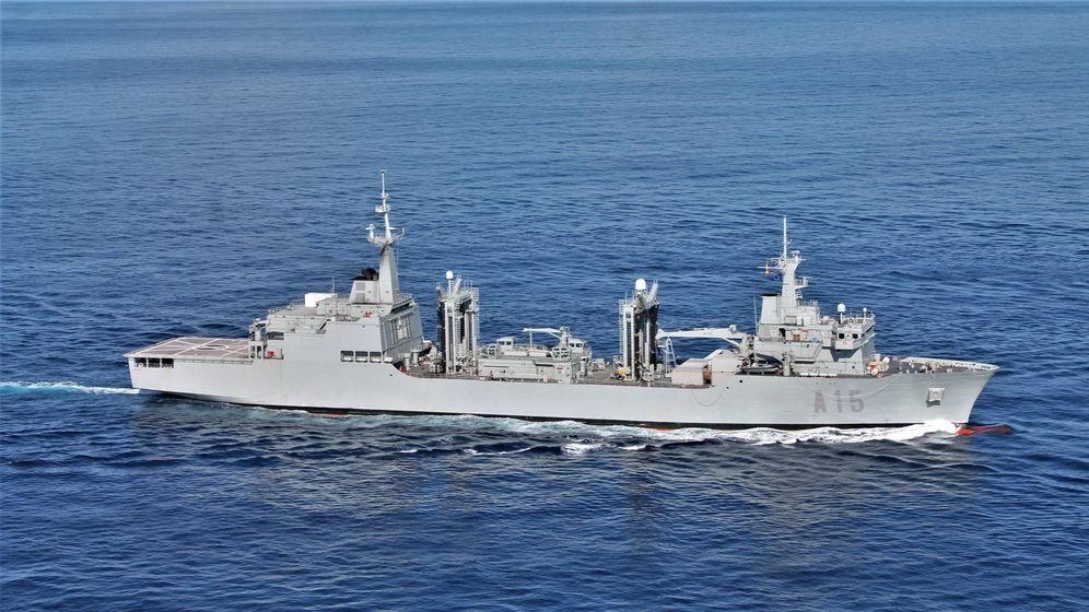 Foto: El BAC Cantabria (Foto: Armada)