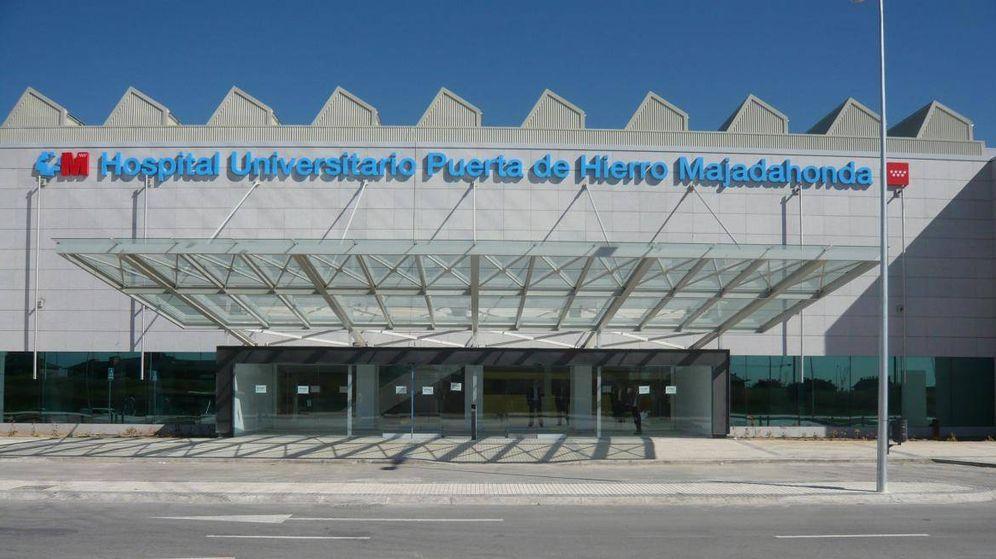 Foto: El hospital Puerta de Hierro, en Majadahonda.