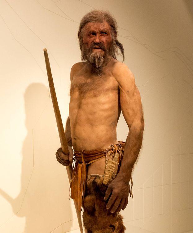 Foto: Este sería el aspecto real de Otzi. (CC)
