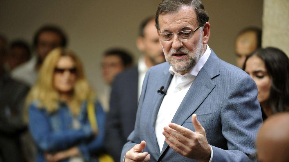 Foto: Rajoy en un acto del PP con jóvenes celebrado en Toledo. (EFE)