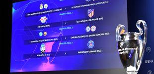 Post de Madrid y Barça, en el cuadrante infernal de la Champions; vía libre para el Atleti