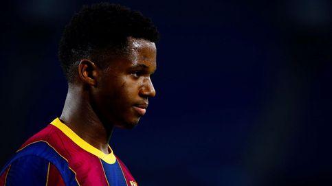 La rodilla de Ansu Fati, un problema añadido para la planificación deportiva del Barça