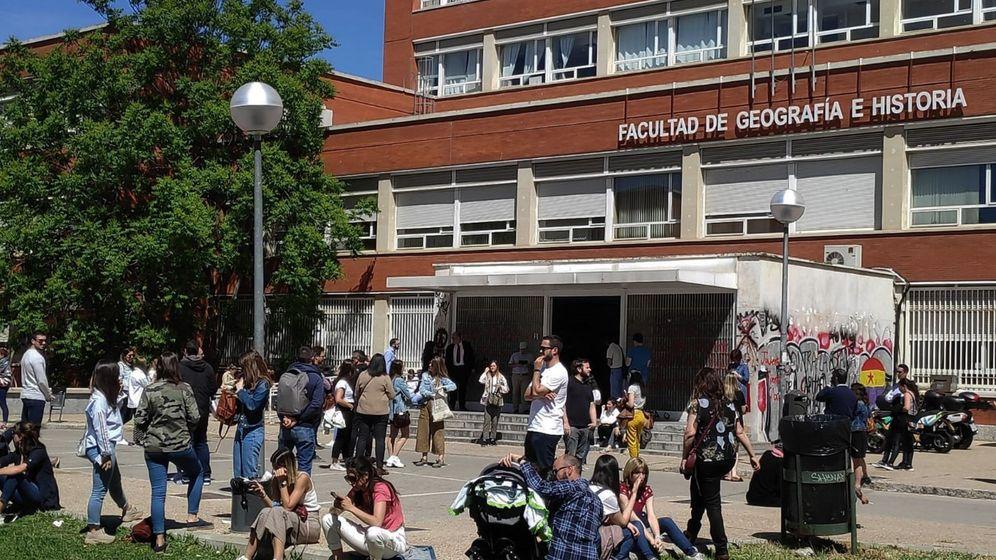 Foto: Facultad de Geografía e Historia de la Universidad Complutense (Efe).