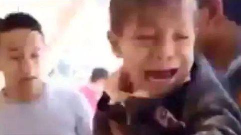 Vídeo: el dramático momento del rescate de dos niños en un colegio de México