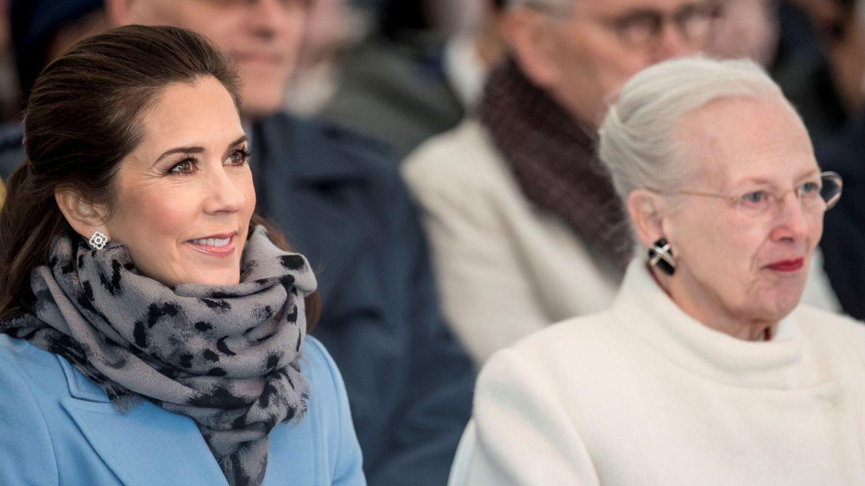 La princesa Mary con la reina Margarita en una imagen reciente. (Reuters)