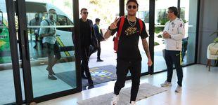 Post de Neymar y su Brasil: llegada en helicóptero a la concentración... y al dentista