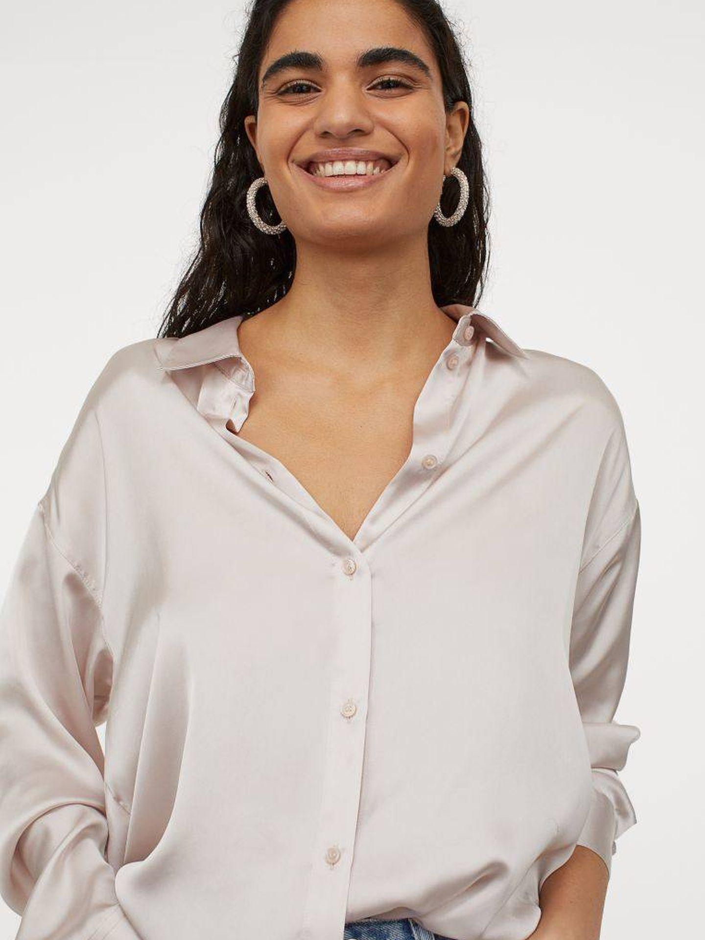 La blusa de HyM. (Cortesía)