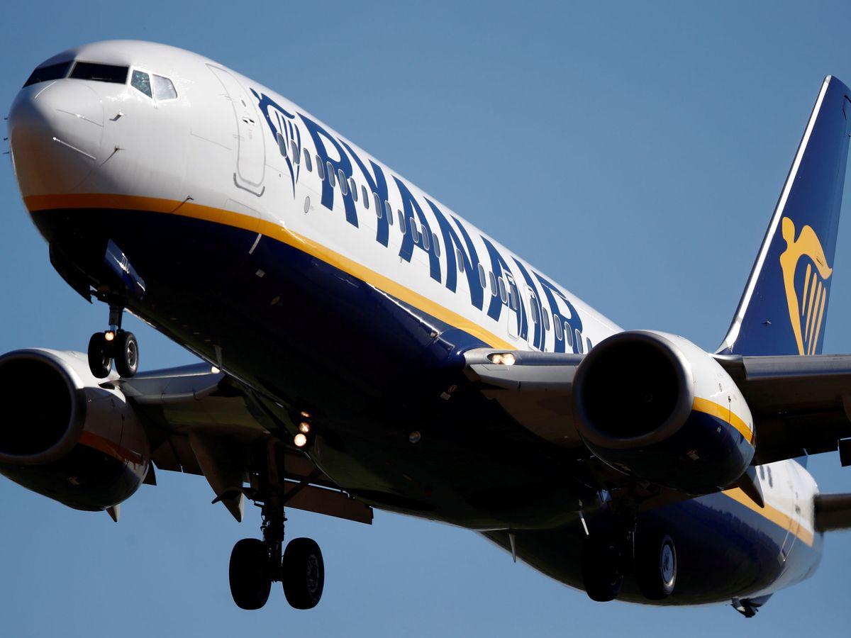 Foto: Un Boeing 737 de Ryanair. (Reuters)