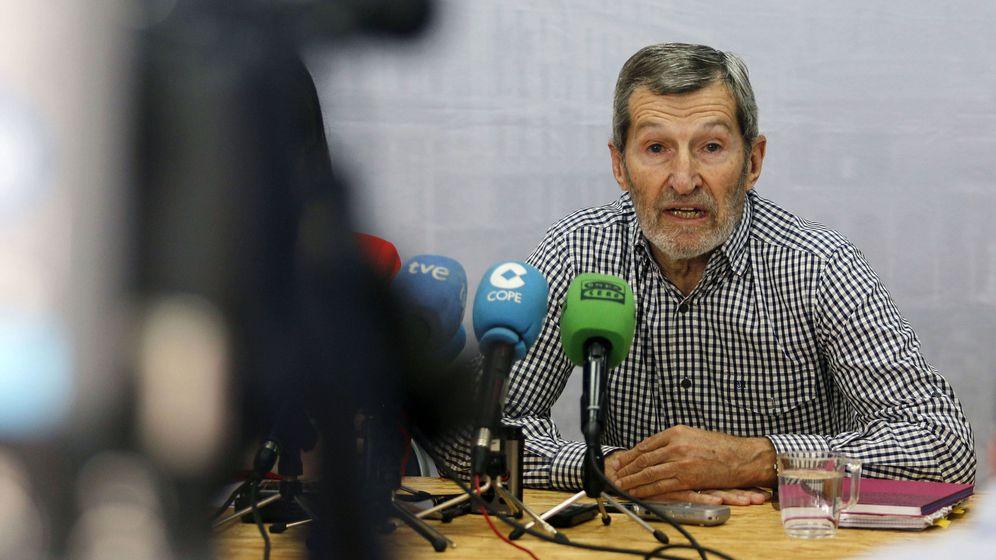 Foto: El exJefe del Estado Mayor de la Defensa, Julio Rodríguez, durante una rueda de prensa. (Efe)