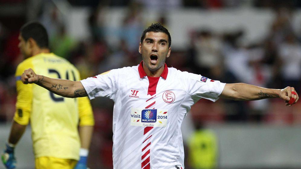 Foto: José Antonio Reyes volvió al Sevilla en el 2012. (EFE)