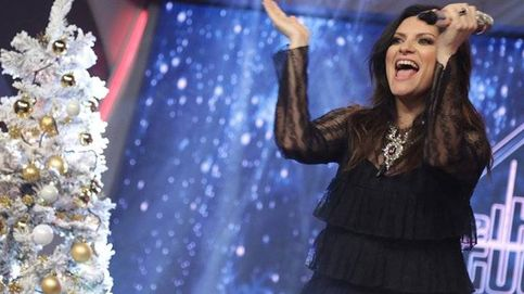 Momentazo: Laura Pausini abandona 'EH' porque se le ve el culo