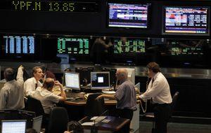 La bolsa argentina cede un 8% afectada por la suspensión de pagos