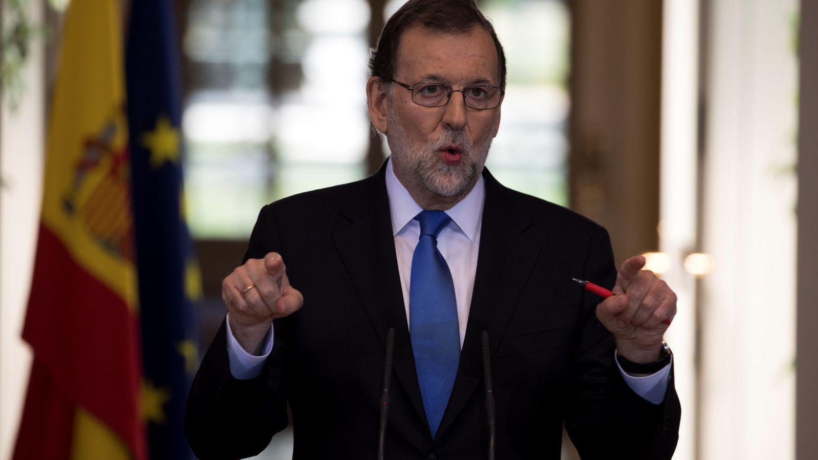 Foto: El presidente Mariano Rajoy sugiere vetar la entrada a personas vinculadas al régimen venezolano. (Reuters)