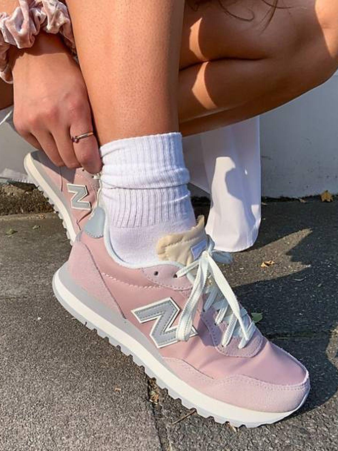 Las zapatillas deportivas de New Balance. (Cortesía)