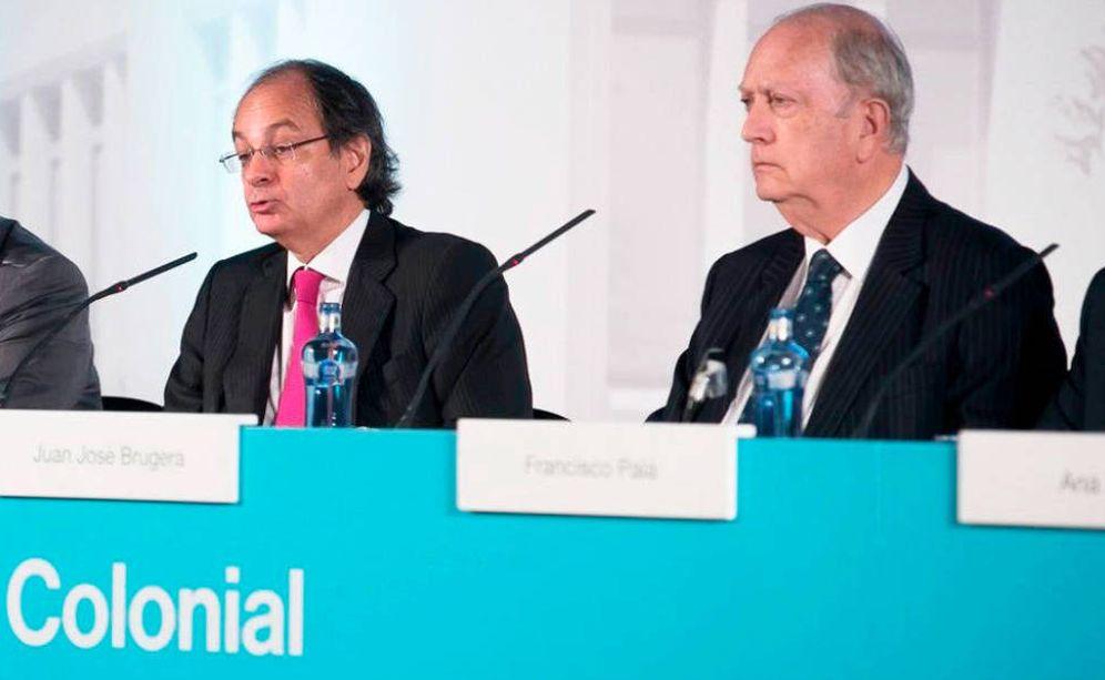 Foto: Pere Viñolas y Juan José Brugera. (EFE)