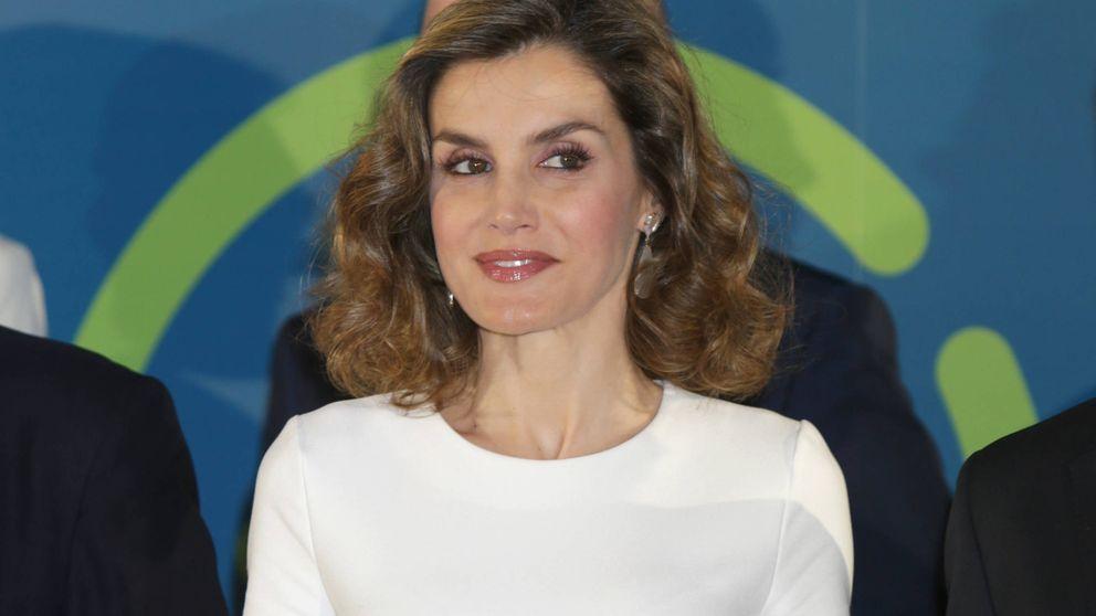 Doña Letizia en la presentación de contenidos accesibles en TV de Telefónica