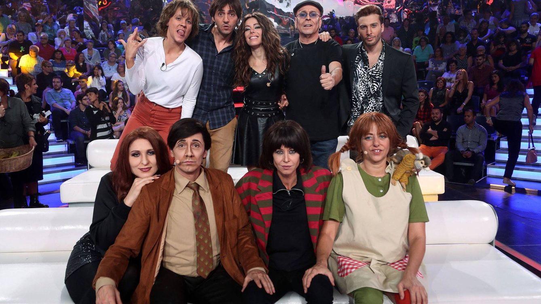 Foto: Concursantes de 'TCMS5' en la tercera gala (José Irún)