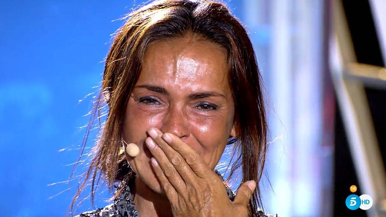Olga Moreno, en 'Supervivientes'. (Mediaset)