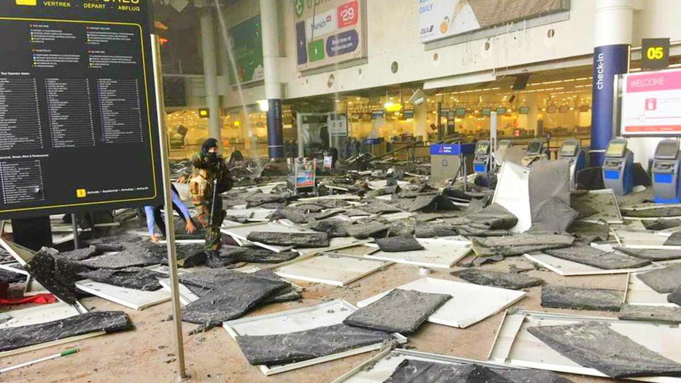 Crónica del horror: así viví el atentado en el aeropuerto de Bruselas
