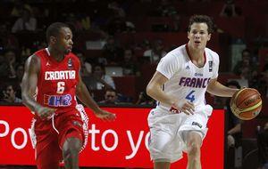 Francia-España y Eslovenia-EEUU, los dos primeros cuartos