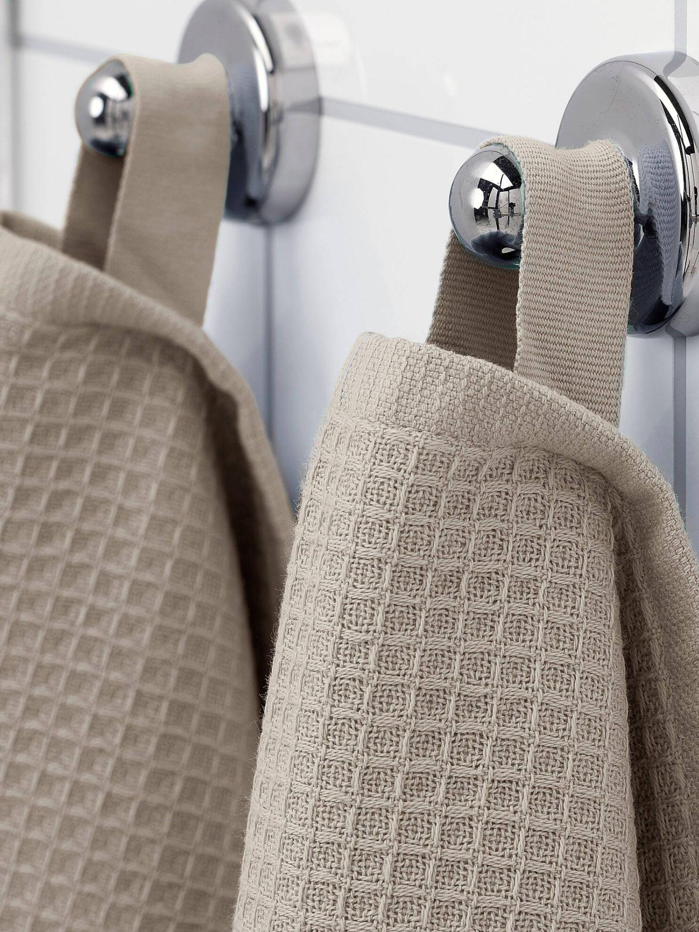 Toallas baratas y sostenibles de Ikea mejor valoradas por sus clientes. (Cortesía)
