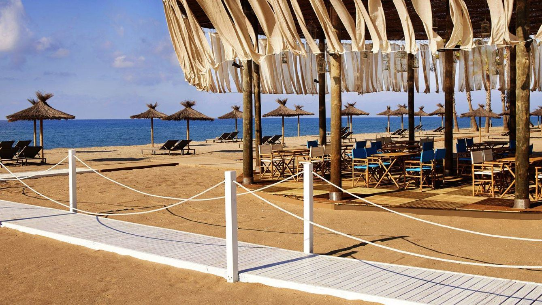 Foto: El 'beach club' del hotel Le Meridien Ra, en El Vendrell