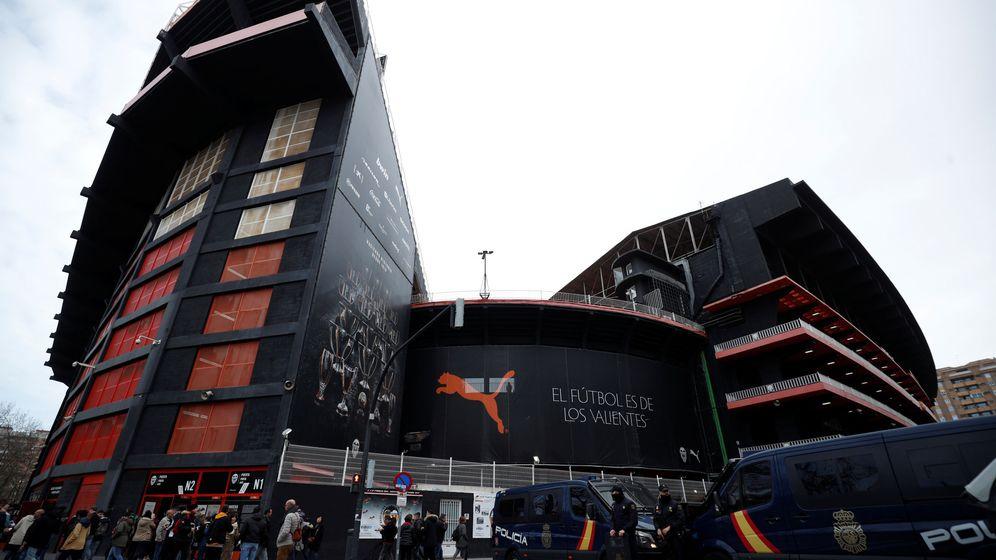 Foto: Mestalla acoge este sñabado el Valencia-Barcelona. (EFE)