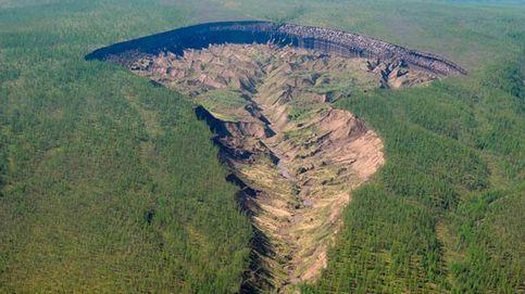 El misterioso cráter de Batagaika en Siberia
