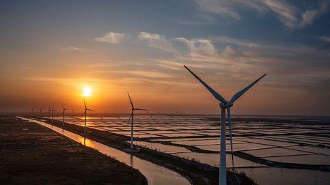 Generadores de energía eólica en China