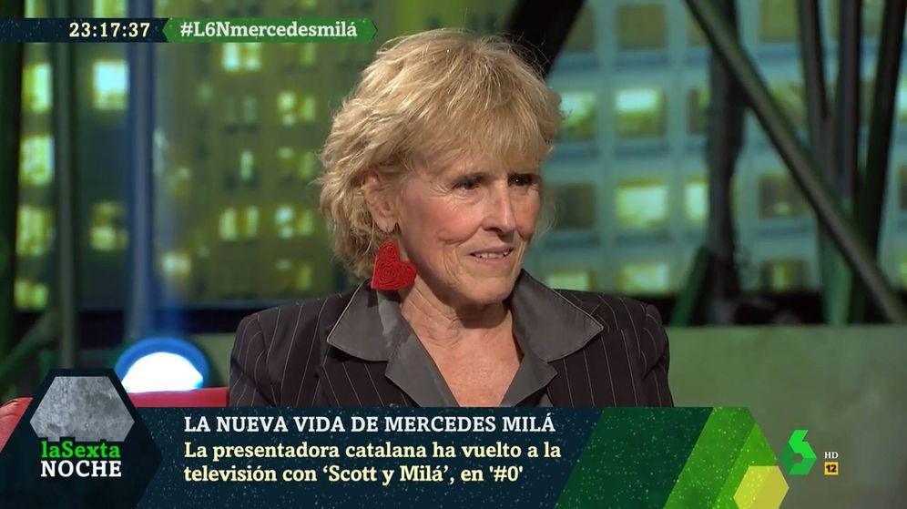 Foto: Mercedes Milá, en 'La Sexta Noche'. (La Sexta)