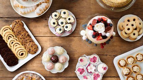Bollos y dulces de pastelería