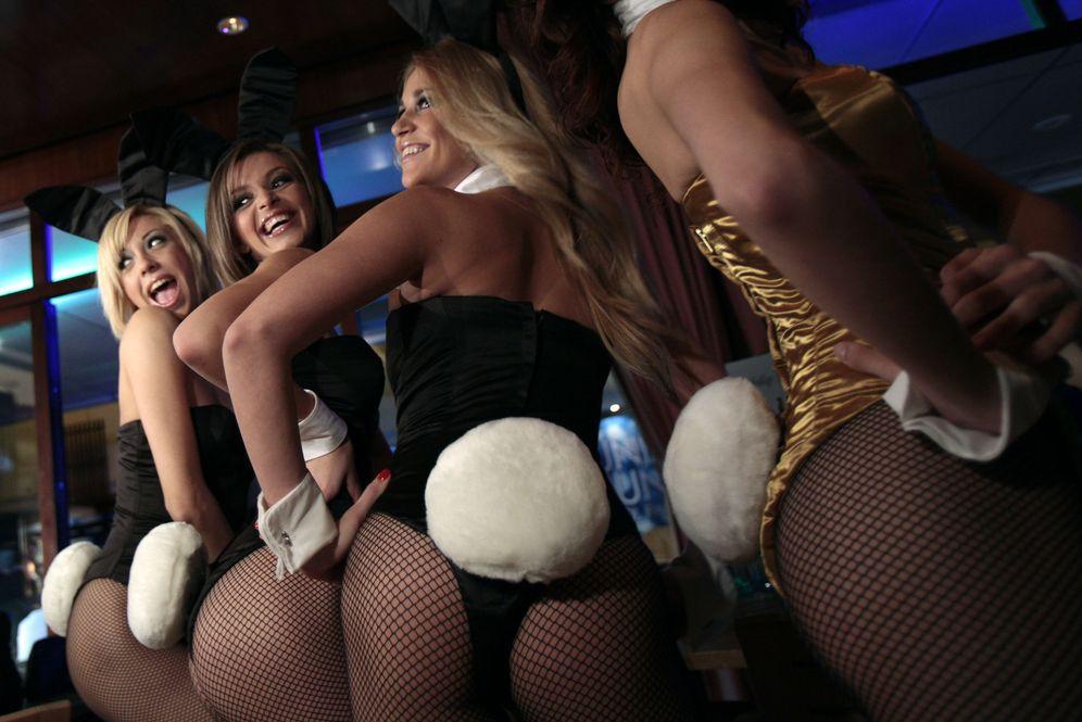Foto: Modelos de Playboy, durante la presentación de un club de la compañía en Macao, el 15 de octubre de 2010. (Reuters)
