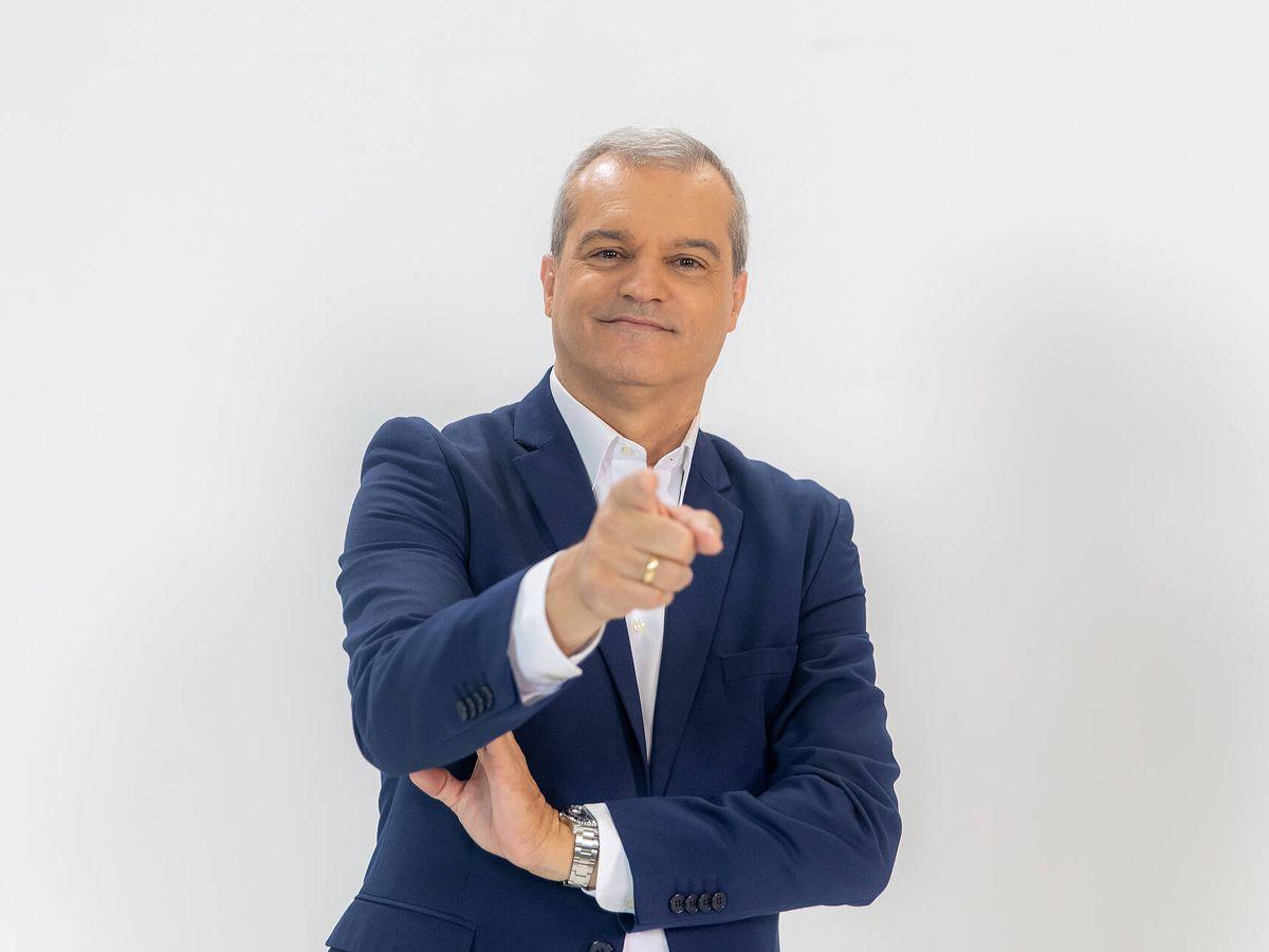 Foto: Ramón García, en 'En compañía'. (CLM TV)