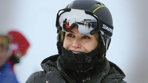 La reina Letizia rompe la tradición también con la ropa de esquí