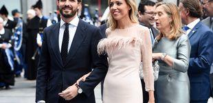 Post de Plumas, terciopelo, pedrería... Las mejor y peor vestidas de los Princesa de Asturias