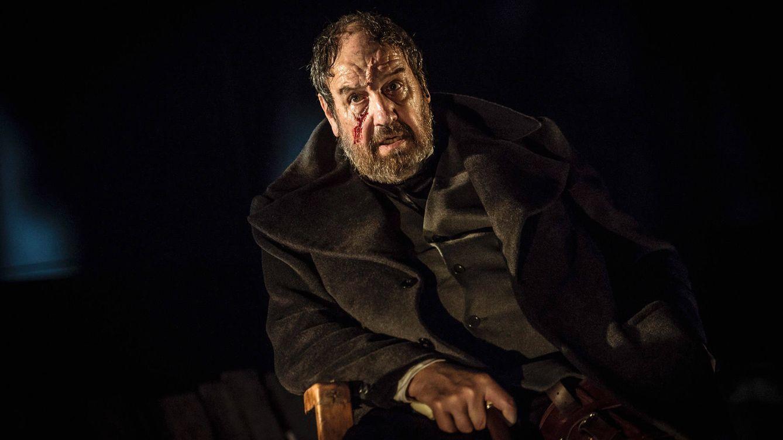 Foto: Josep María Pou en un momento de la interpretación en 'Moby Dick'.