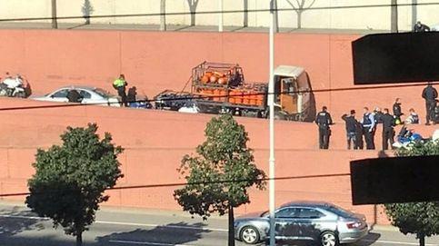 Detenido a tiros un conductor que iba en sentido contrario con un camión de butano
