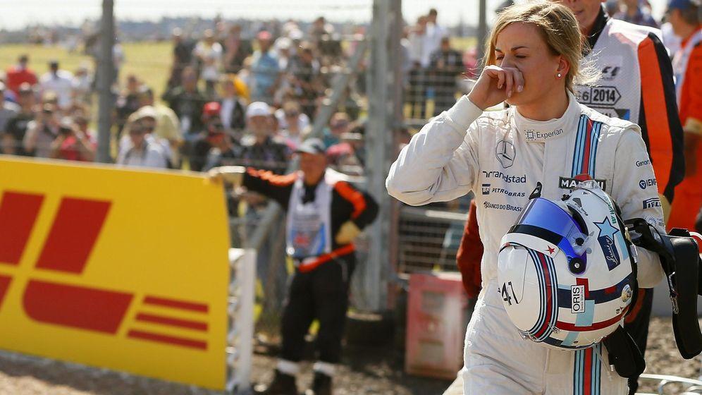 Foto: Susie Wolff es una de las pilotos que está en la Fórmula 1 como piloto de desarrollo (Reuters)