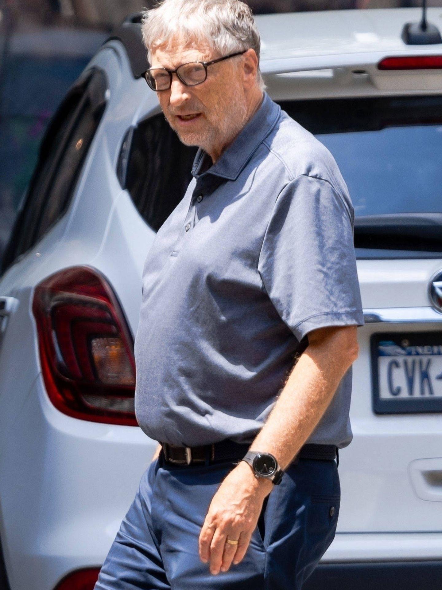 Bill Gates, con la alianza de casado. (Contact Press)