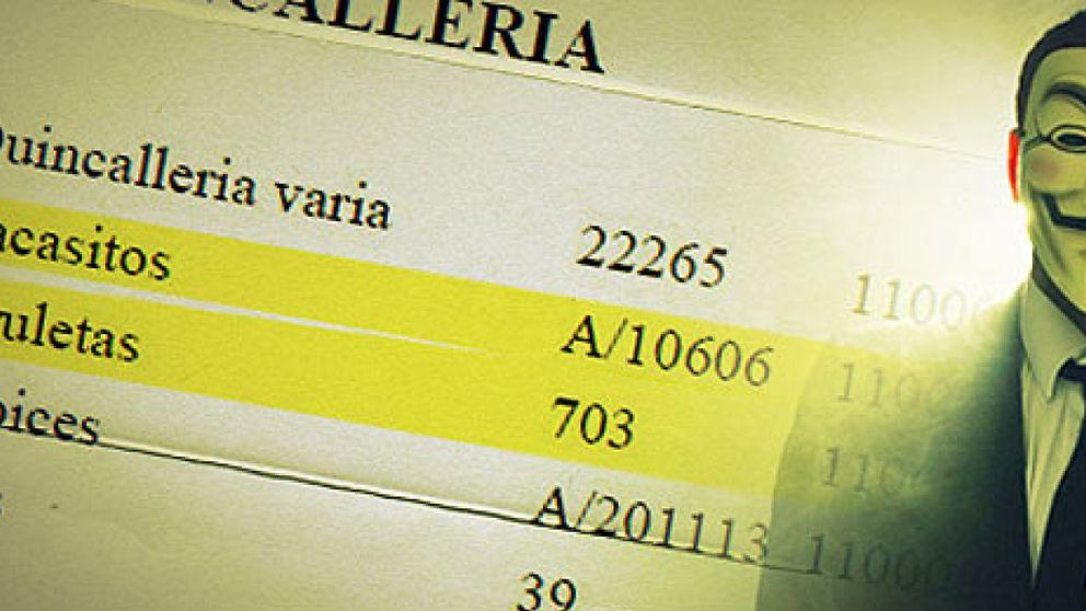 El PP denuncia a Anonymous por revelación de secretos al filtrar su contabilidad