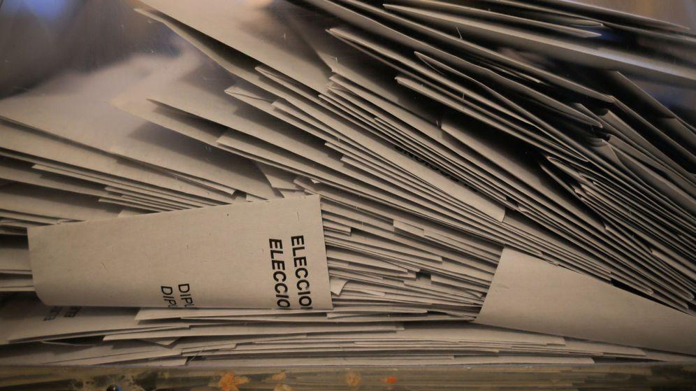 Foto: Papeletas para las elecciones generales. (Reuters)