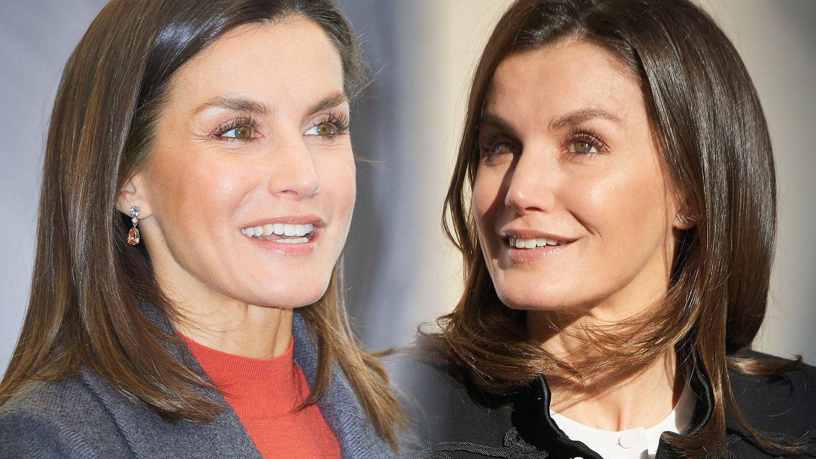 Foto:  La Reina en diciembre (izquierda) y en enero (derecha). (Limited Pictures)