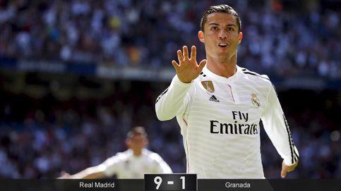 Cristiano Ronaldo y sus cinco goles alegraron a un Madrid histórico