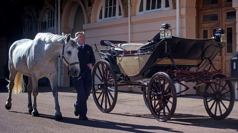 Uno de los carruajes de los Windsor. (Reuters)