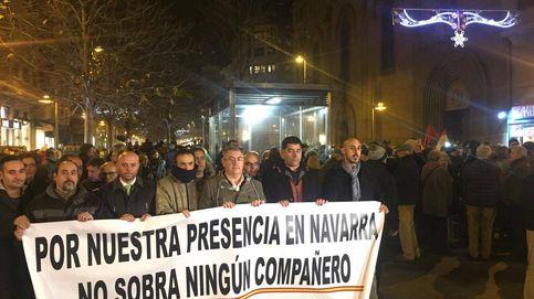 Queremos Guardia Civil: protesta contra los planes de expulsar a este cuerpo de Navarra