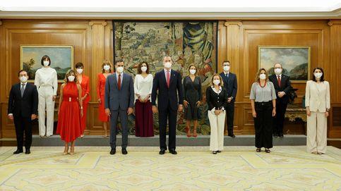 Todo al rojo: la toma de posesión más corporativa de los nuevos ministros